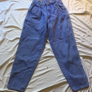 Vintage 80's Bill Blass High Rise  Mom Jeans